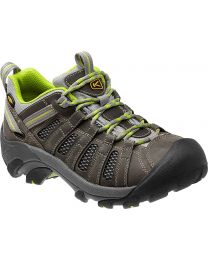 Keen Voyageur Shoes - Neutral Gray/Lime Green - Womens