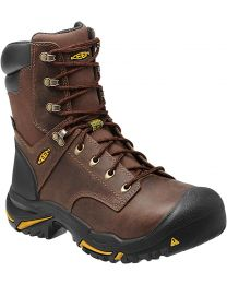 Keen Mt. Vernon 8-in Steel Toe Boots - Cascade Brown - Mens