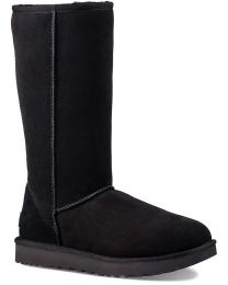 UGG Classic Tall II Sheepskin Boots - Black - Women