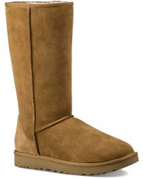 UGG Classic Tall II Sheepskin Boots - Chestnut - Women