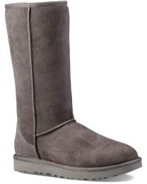 UGG Classic Tall II Sheepskin Boots - Grey - Women