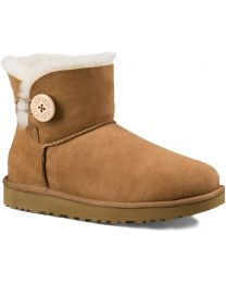 UGG Mini Bailey Button II Boot - Chestnut - Womens
