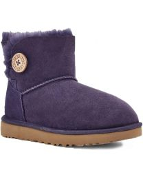 UGG Mini Bailey Button II Boot - Nightshade - Womens