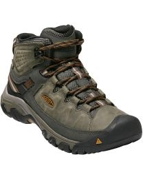 Keen Targhee III Waterproof Mid Boot - Black/Olive - Mens