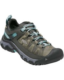 Keen Targhee III Waterproof Shoes - Alcatraz/Blue Turquoise - Womens