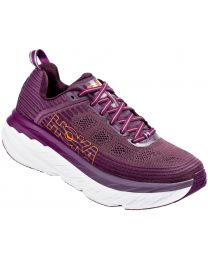 Hoka One One Bondi 6 Shoe - Purple/White - Womens