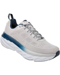 Hoka One One Bondi 6 Shoe Wide - Lunar Rock - Womens