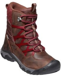 Keen Hoodoo III Lace Up Boot - Tortoise Shell/Merlot - Womens