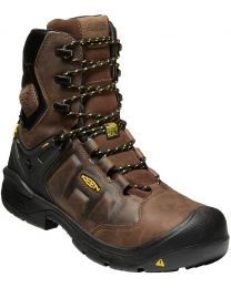 "Keen Dover 8"" Waterproof Boot - Earth - Mens"