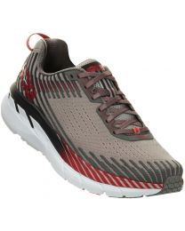 Hoka One One Clifton 5 Shoes - Alloy/Steel Grey - Mens