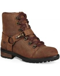 UGG Fritzi Lace-Up Boot - Chipmunk - Womens