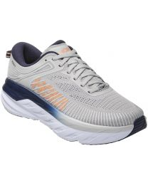 Hoka Bondi 7 Shoe Wide - Lunar Rock - Womens