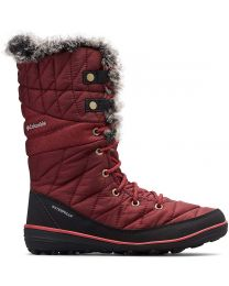 Columbia Heavenly Omni-Heat Lace Up Boot - Wine - Womens