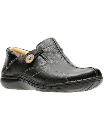 Clarks Un.Loop Shoes - Black - Womens