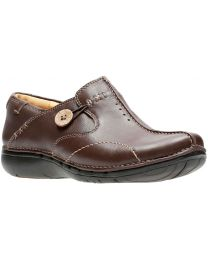 Clarks Un.Loop Shoes - Brown - Womens