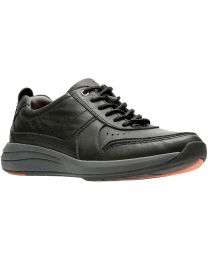 Clarks Un Coast Form Shoe - Black - Mens