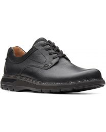 Clarks Un Ramble Lo Shoe - Black - Mens
