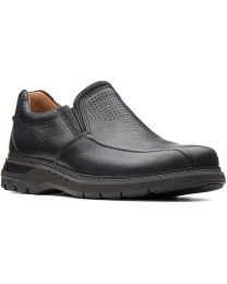 Clarks Un Ramble Step Shoe - Black - Mens