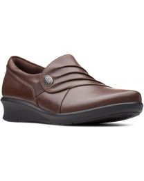 Clarks Hope Roxanne Shoes - Brown - Womens