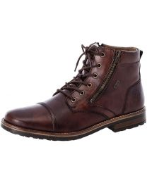 Rieker 33200-26 Lace Up Boots - Brown - Mens
