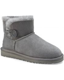 UGG Mini Bailey Button II Boot - Grey - Womens