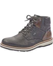 Rieker Ronny Lace-up Boot - Black - Mens