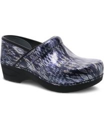 Dansko XP 2.0 Clogs - Navy Ikat Patent - Womens