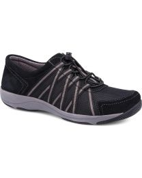 Dansko Honor Sneaker Wide - Black - Womens