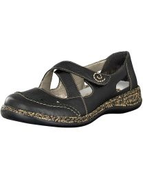 Rieker 46335-00 Shoe - Black - Women