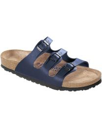 Birkenstock Florida Soft Footbed Sandals - Navy - Womens