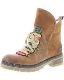 Rieker 70733-22 Boot - Distressed Brown - Womens