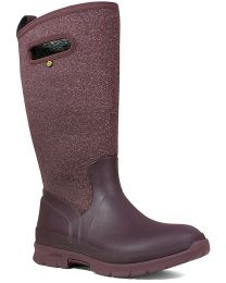 BOGS Crandall Tall Boots - Wine - Womens