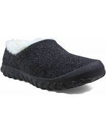 BOGS B-Moc Slip On Wool Shoe - Black - Womens