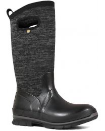 BOGS Crandal Tall Knit Boot - Black Multi - Womens