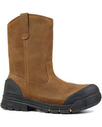BOGS Bedrock Wellington Composite Toe Boot - Brown - Mens