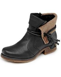 Rieker Fee 79693-00 Boot - Black - Womens