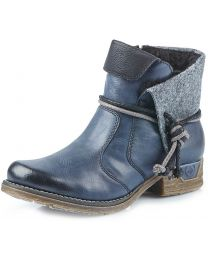 Rieker Fee 79693-14 Boot - Grey Lace - Womens