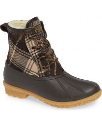 Pendleton Heritage Plaid Duck Boot - Brown - Womens