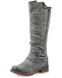 Rieker 94652-45 Boot - Grey - Womens
