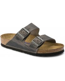 Birkenstock Arizona Soft Footbed Sandals - Iron - Womens/Mens