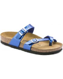 Birkenstock Mayari Birko-Flor Sandals - Electric Blue - Womens