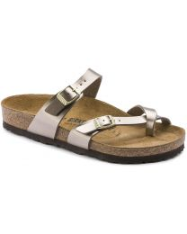 Birkenstock Mayari Birko-Flor Sandals - Electric Taupe - Womens