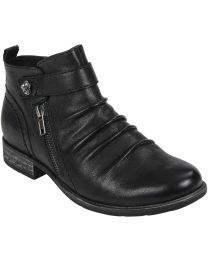 Earth Brook Boot Wide - Black - Womens