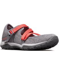 Columbia Fire Venture Mary Jane II Knit Shoe - Grey/Red - Womens