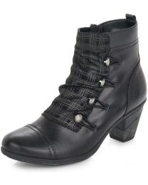 Remonte D8792-04 Boot - Black - Womens