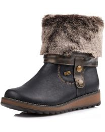 Remonte Shanice D8874-01 Boot - Black - Womens