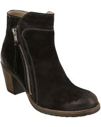 Taos Dillie Boot - Black Suede - Womens