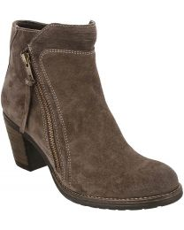 Taos Dillie Boot - Dark Taupe Suede - Womens