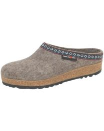 Haflinger Grizzly Wool Felt Clogs (GZ) - Earth - Womens/Mens