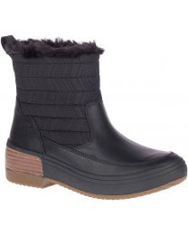 Merrell Haven Bluff Polar Boot - Black - Womens